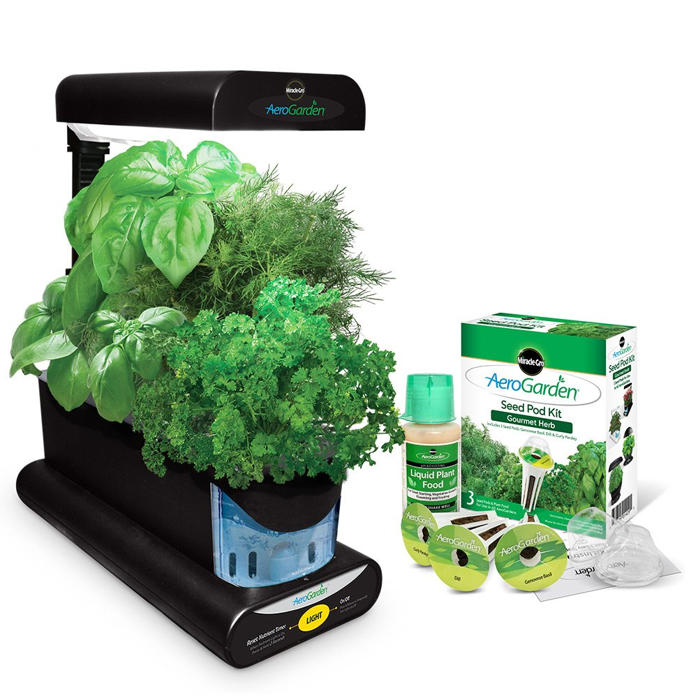 Amazoncom Miracle Gro AeroGarden Sprout with Gourmet Herb Seed