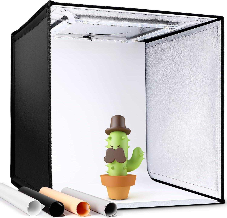 Amzdeal Photo Studio Light Tent 50 X 50 X 50 Cm Camera Photo