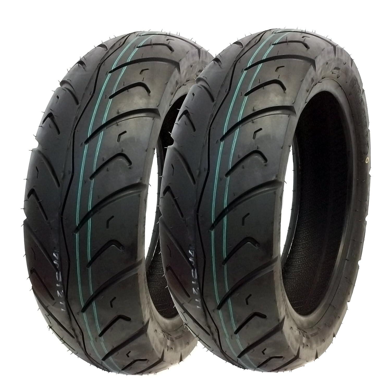 TIRE SET: Front Tire 120/70-12 Rear Tire 130/70-12 Street Tread fits on E-TON 50cc 150cc Matrix R4 Sport Beamer MMG
