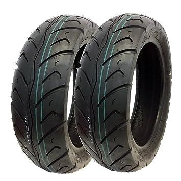 Amazon.com: Neumático Set: neumático delantero 120/70 – 12 ...
