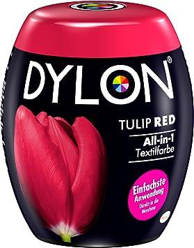 Tinte de DYLON. Rojo tulipán, pack de una unidad de 350 g