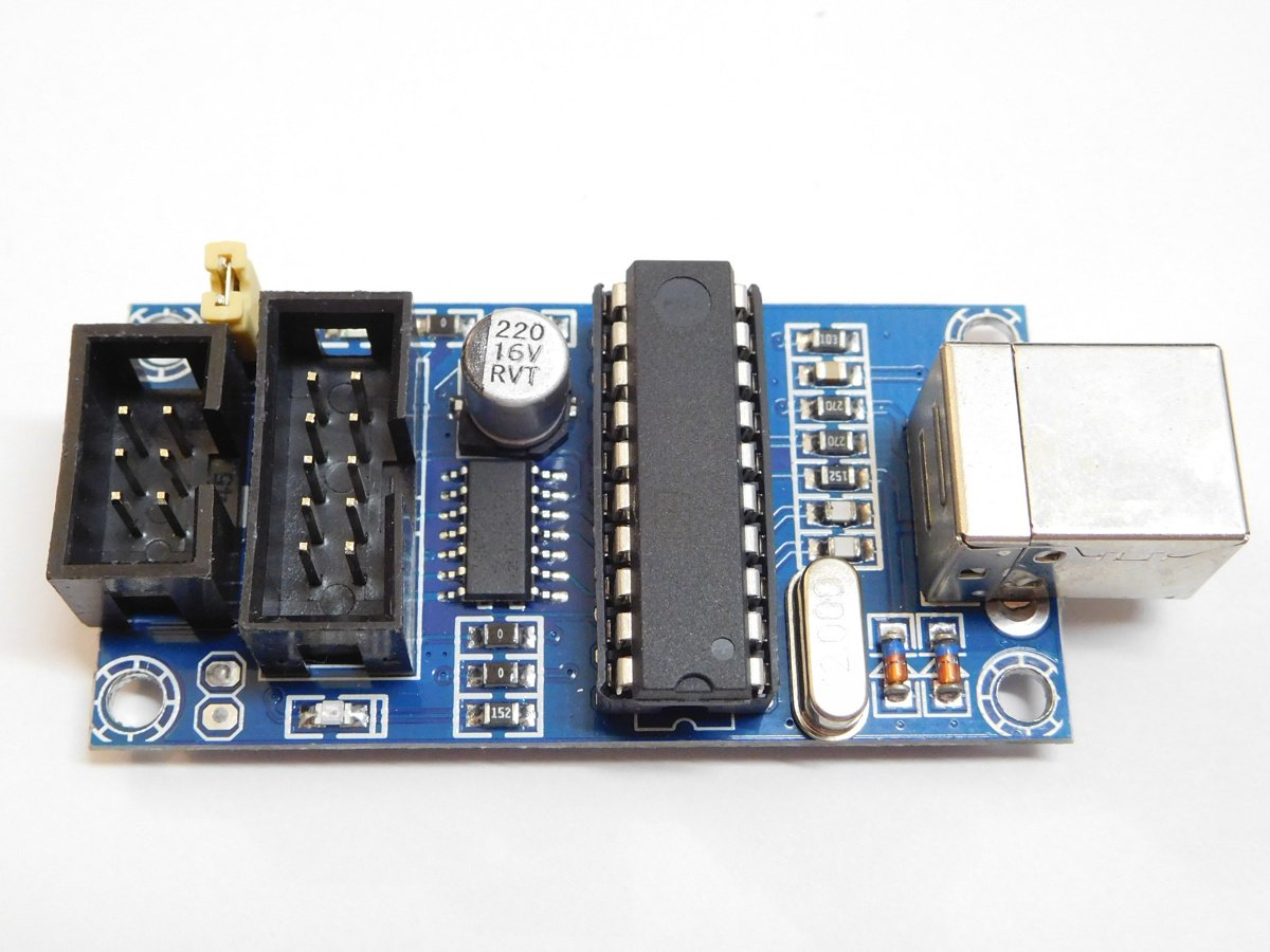 Usbtinyisp Usb Avr Programmer For Atmega Attiny Arduino 0743 Isp Usbasp Atmel With Case Reviews Electronics