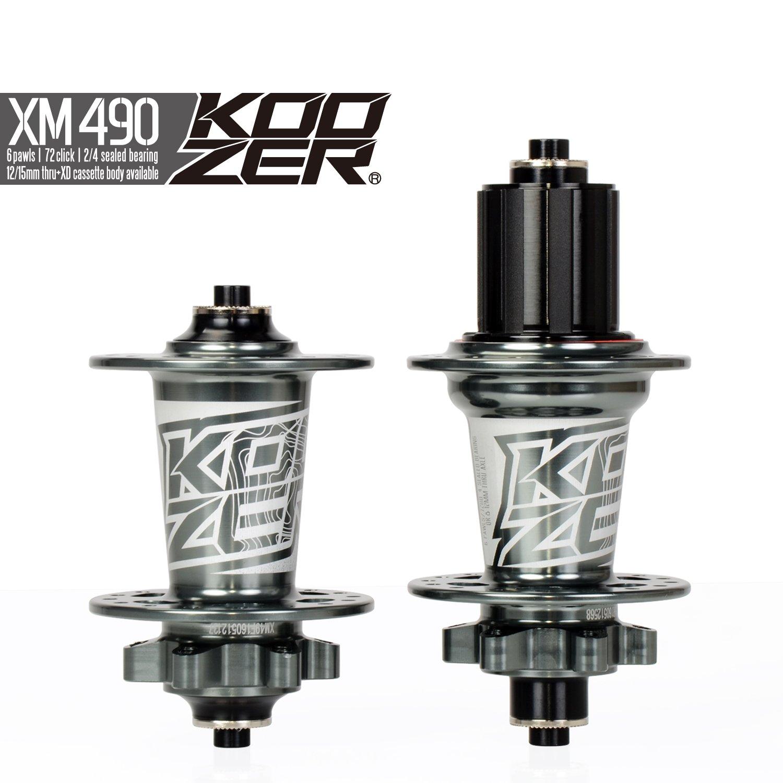 OEM Grey KOOZER XM490 Bicycle Hub 32H Front&Rear MTB/Road 9x100MM 10x135MM