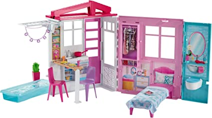 Barbie House Furniture Accessories Multicolored Toys Games