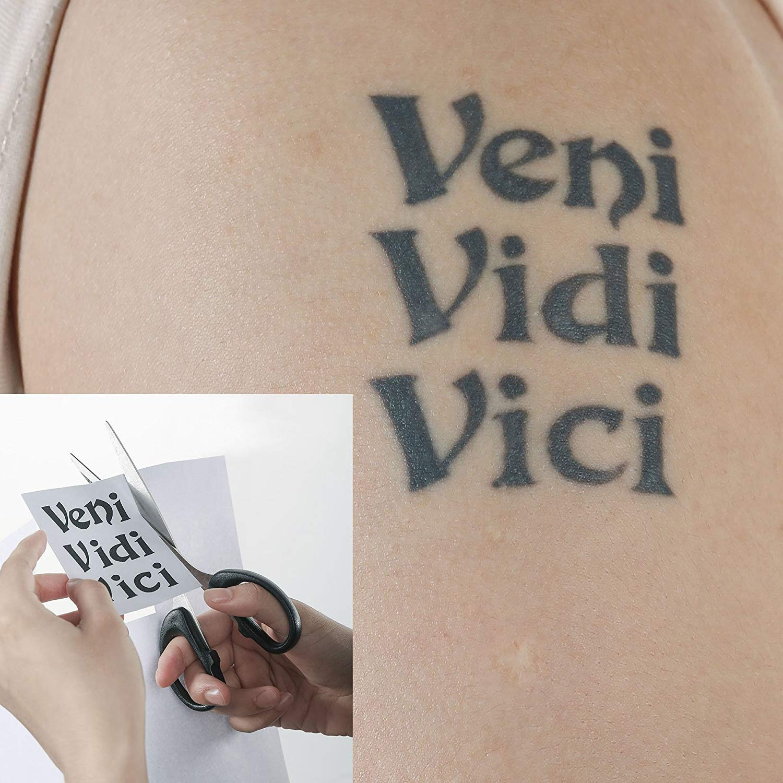 Xiton 25pcs Papeles para la Transferencia del Tatuaje Hectógrafo ...