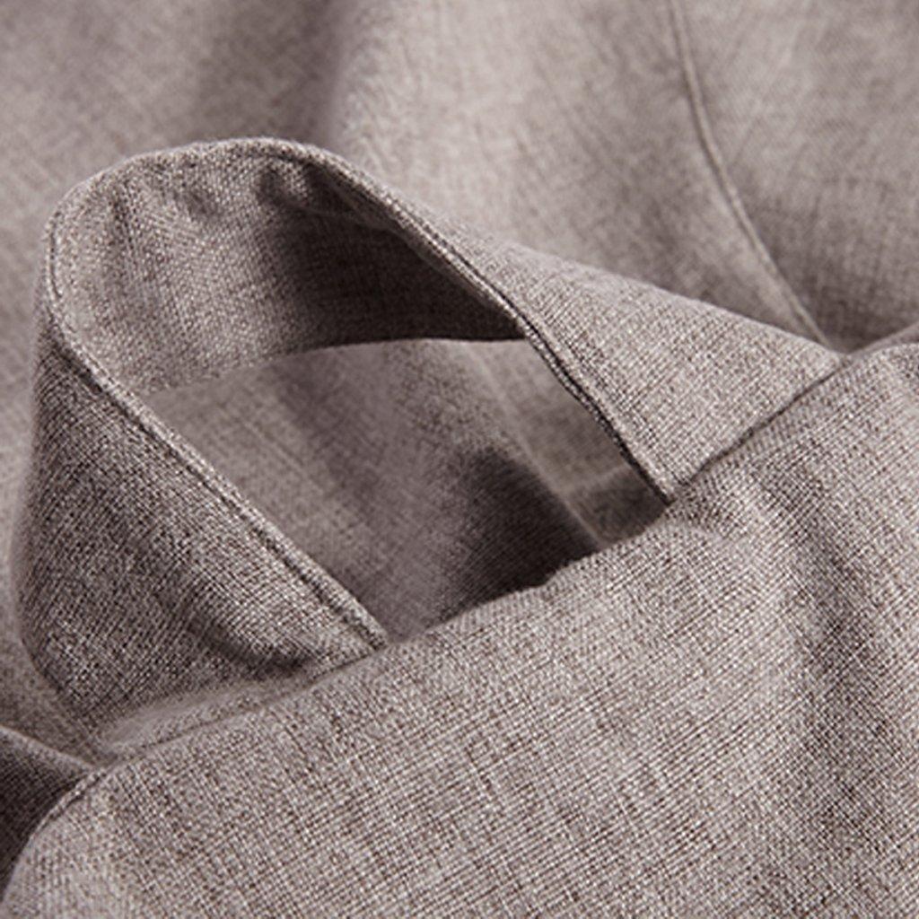 Copertura per Poltrona A Sacco Fodere da Divano in Lino Accessorio 60x75cm Vino