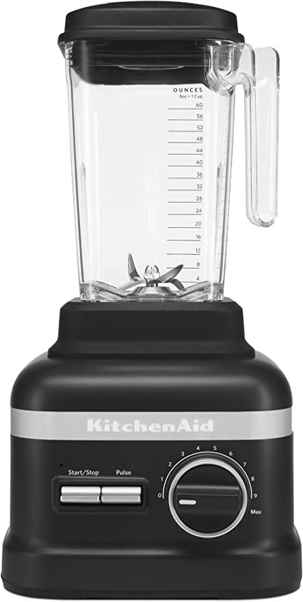 KitchenAid KSB6060BM Batidora de vaso 2.6L Negro - Licuadora ...