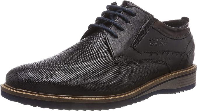 bugatti 311599014000, Zapatos de Cordones Derby para Hombre