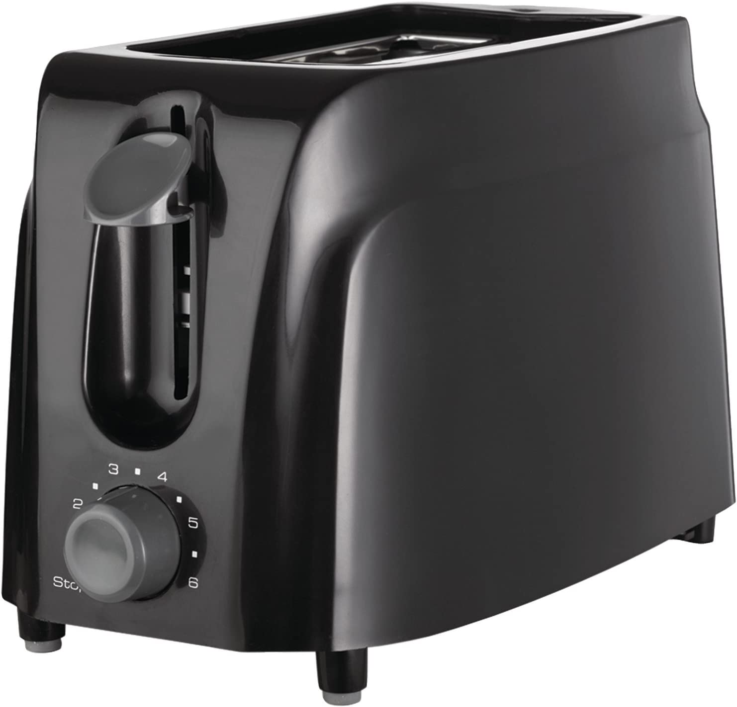 Brentwood Cool Touch 2-Slice Toaster Kitchen Supplies, Black