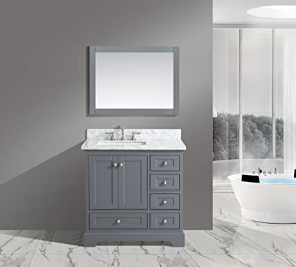 UrbanFurnishing Net  Jocelyn 36 Inch Quot Bathroom Sink Vanity Set Amazon Com