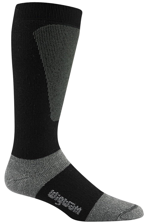 Wigwam Men's Snow Sirocco Knee-High Performance Ski Socks Black X-Large Wigwam Men's Socks F2092