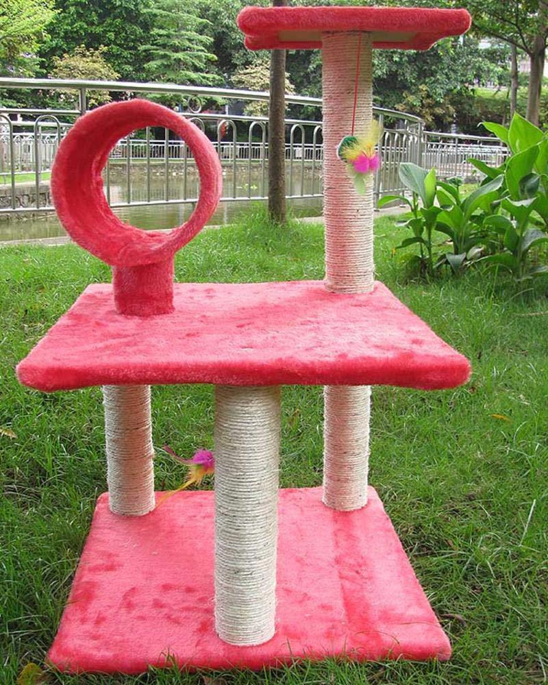 Ludage Animale domestico Cat arrampicata cornice spada gatto lettiera gatto salto gatto bloccante pilastro cm 40  40  68cm