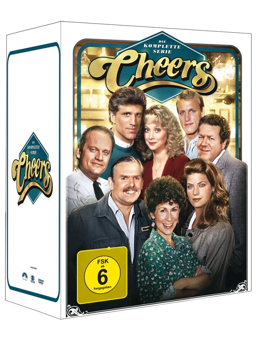 Cheers Die Komplette Serie 43 Discs Amazonde Ted