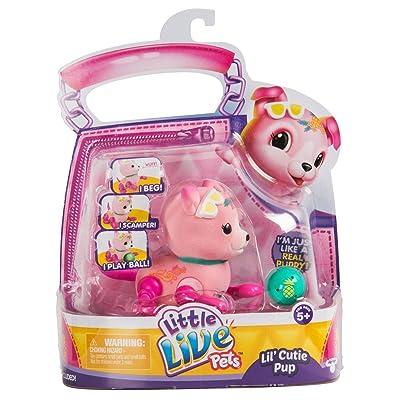 Little Live Pets Lil' Cutie Pups Season 2 Single Pack - Shine Apple: Toys & Games