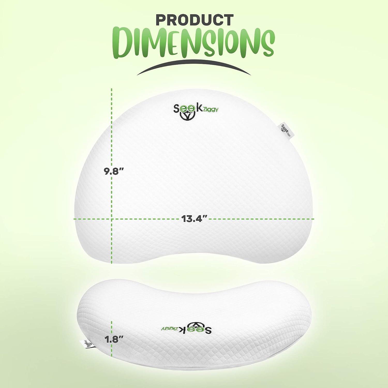 Amazon.com: Almohada de espuma viscoelástica para bebé por ...