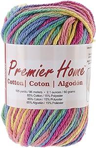Premier Yarns 44-03 Yarn Home Cotton Rainbow
