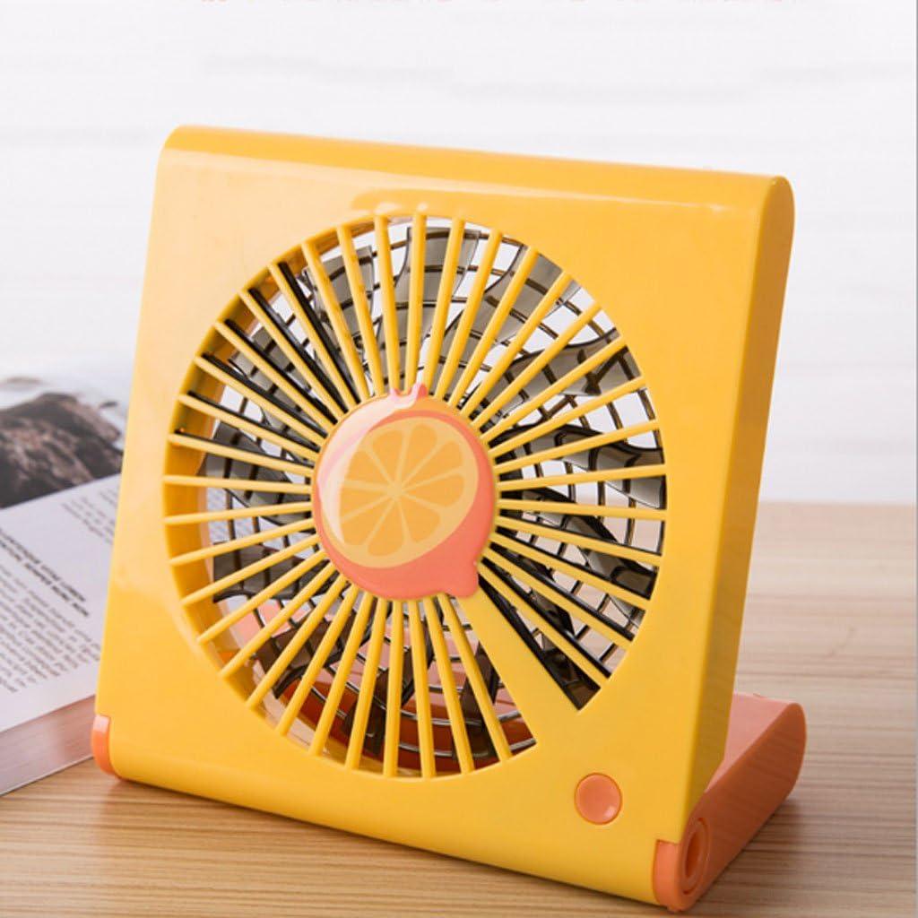 Student Dormitory Bed Outdoor Travel Family Mini Fan Heat Dissipation Color : A Notebook Folding Fan Mini Portable Silent Fan ZWS Portable Fan Fashion USB Charging Fan