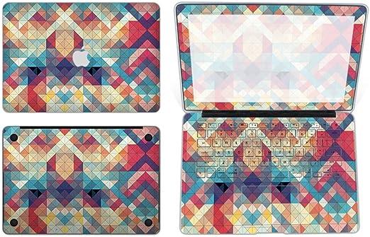 """Colorful Geometric 3D Matte Hard Case for Macbook Pro 13/"""" w//Retina A1425//A1502"""