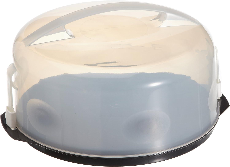 Alpfa 800027 - Recipiente de plástico para conservar y Transportar Tartas
