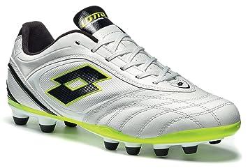 09804db2c Lotto Stadio Potenza IV 300 FG Men's Football Boots White Size: 13 ...