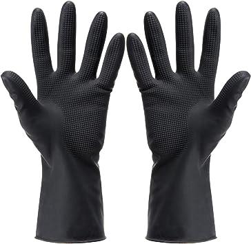 Coloré doigts Coffret Gants Noir
