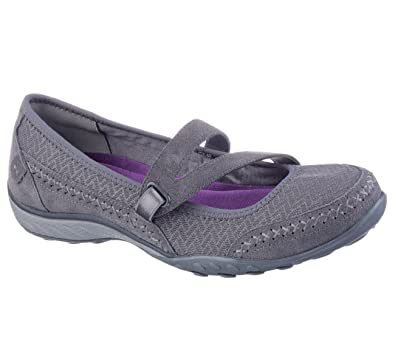 23e81d0a960 Image Unavailable. Image not available for. Color  Skechers Relaxed Fit Breathe  Easy Love Story Womens Mary Jane ...