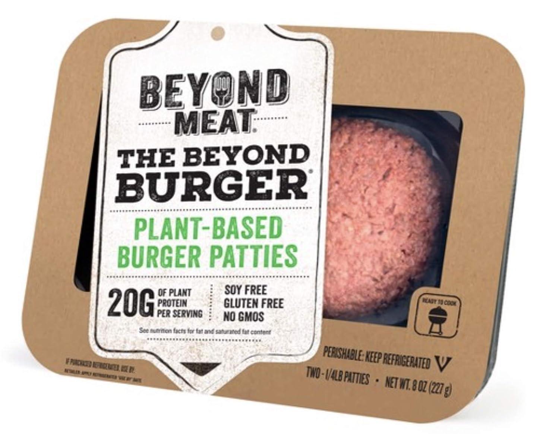 Beyond Meat Burger, World's First Plant-Based Burger, Vegan, No ...
