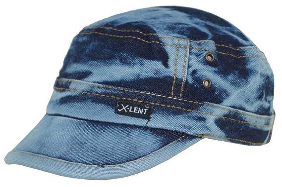 H2Y Jeans Cap Blue Print Pack of 1 Caps   Hats