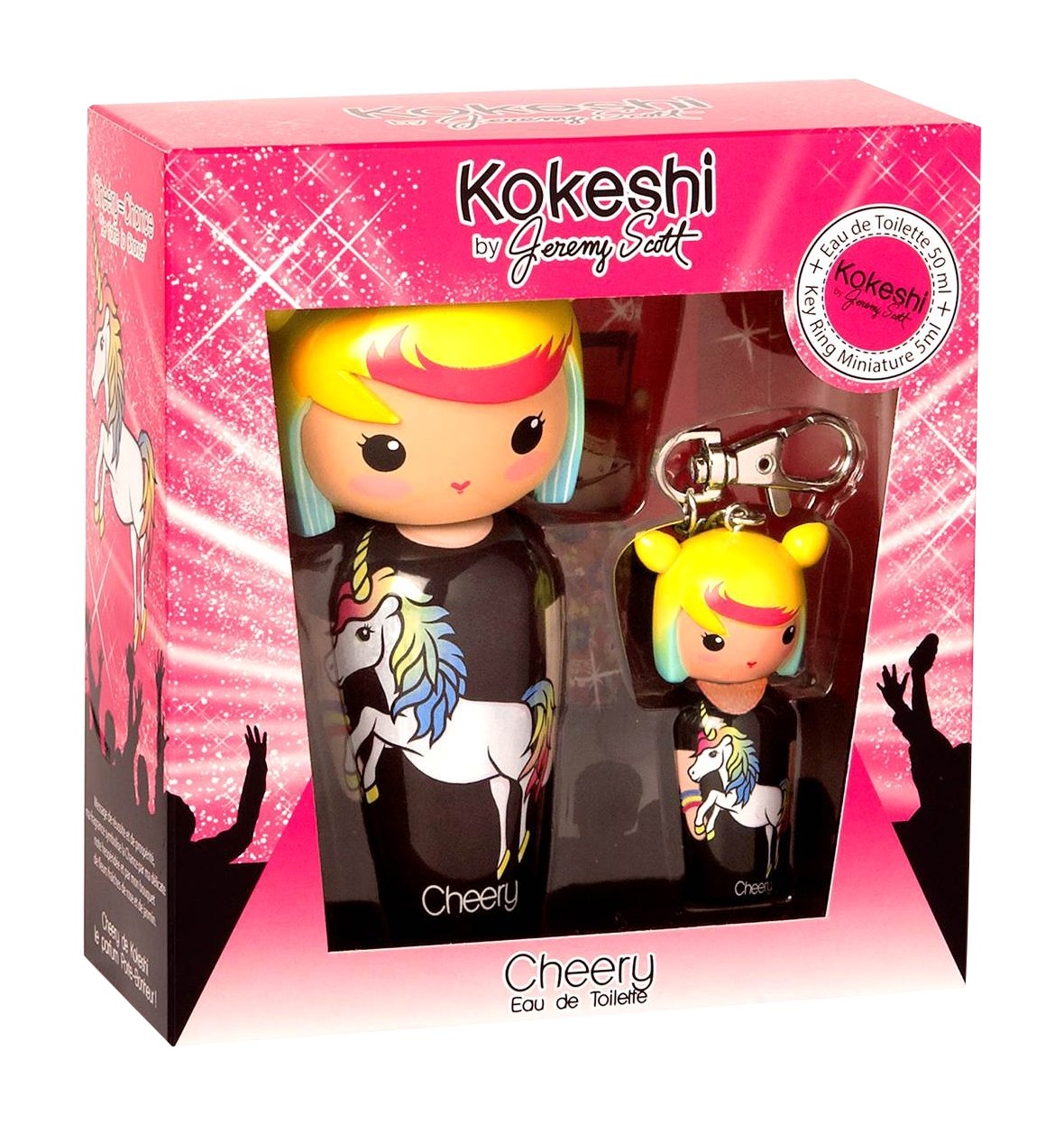 Kokeshi By Jeremy Scott Cherry Perfume y Llavero - 50 ml 50459