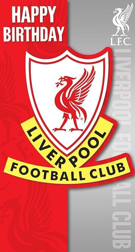 Liverpool FC CARTE D/'ANNIVERSAIRE