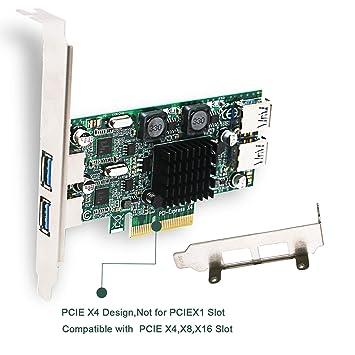 FebSmart PCIE Tarjeta USB PCIE USB 3.0 Tarjeta PCI Express USB PCI ...