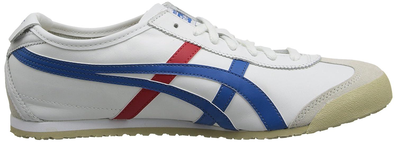Onitsuka Tiger Mexico 66 Fashion Sneaker B00HVVH11C 12 M US US Women / 10.5 M US US Men|White/Red/Blue 9f1f2c