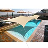 Alion Home 8' x 12' Waterproof Woven Sun Shade Sail