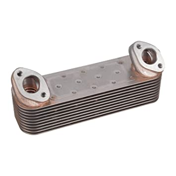 Febi-Bilstein 21050 Radiador de aceite, aceite motor
