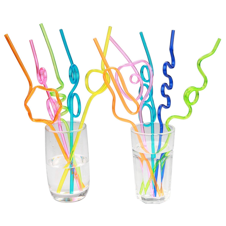 Crazy loop straws (pack of 50)