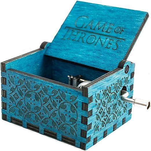 Premier Bo/îte /à musique,Harry Potter grav/é en bois Bo/îte d/écorative cadeaux de No/ël