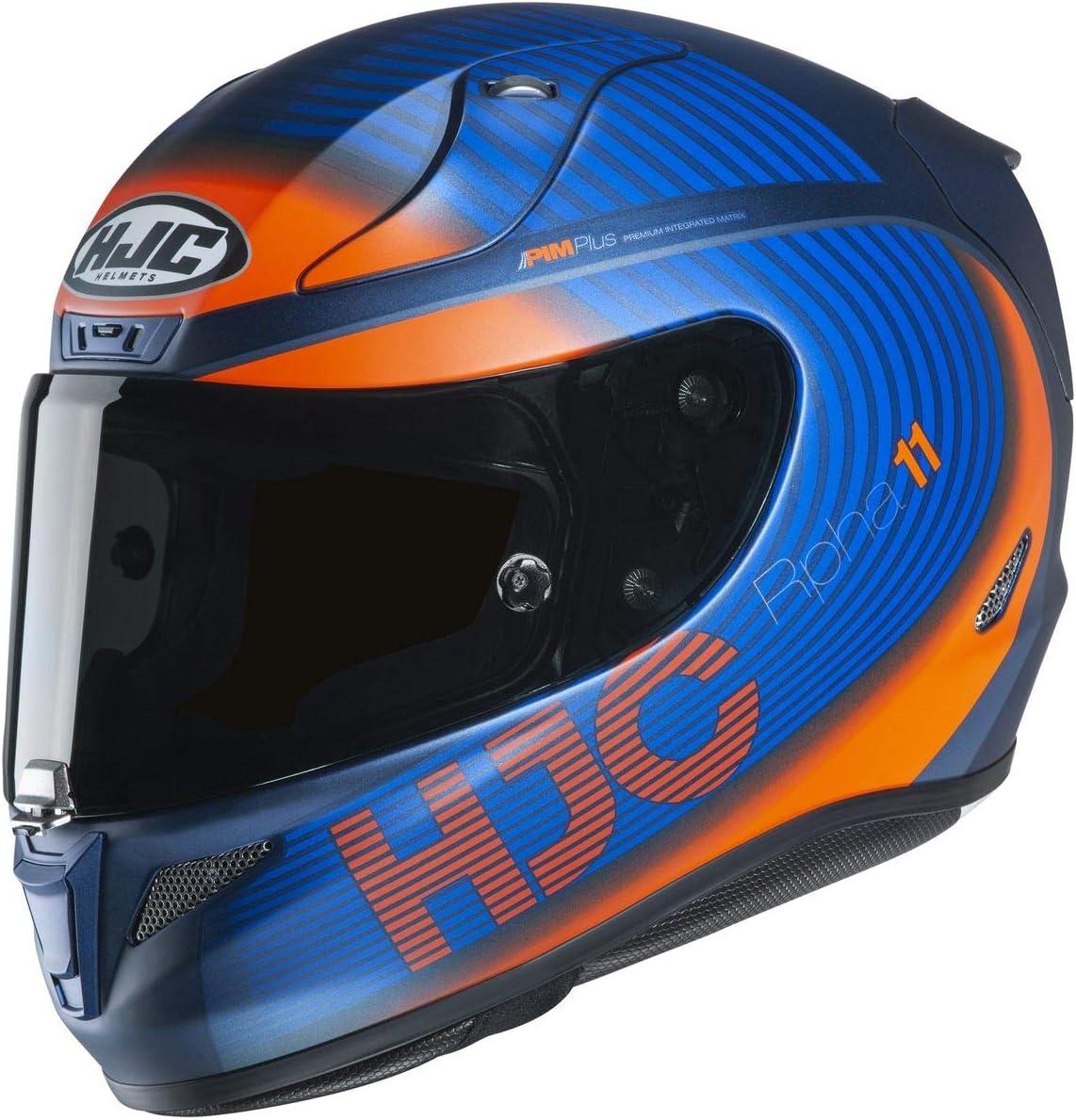 Black//RED HJC RPHA 11 Pro Helmet Bine X-Large