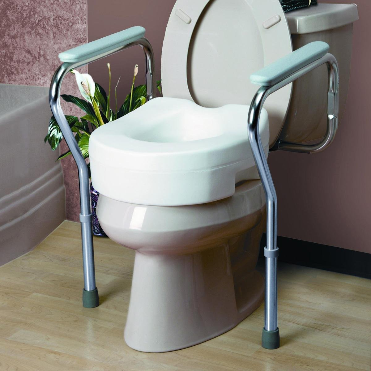 Amazon.com: Invacare Toilet Safety Frame: Health & Personal Care