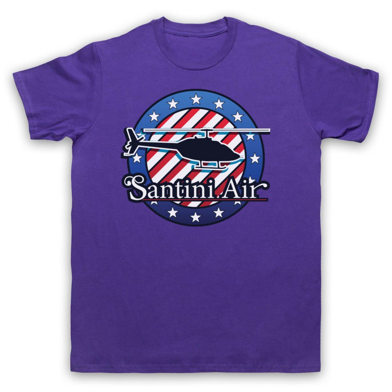 Inspired Apparel Inspiriert von Airwolf Santini Air Inoffiziell Herren T- Shirt: Amazon.de: Bekleidung