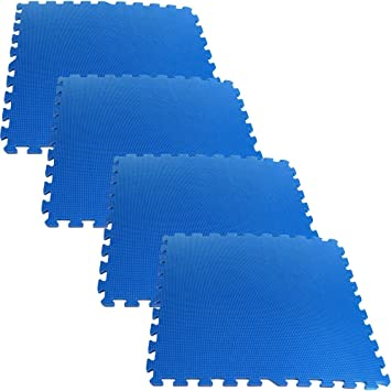 Foam Mat Floor Tiles, Interlocking Ultimate Comfort EVA Foam Padding By  Stalwart U2013 Soft Flooring