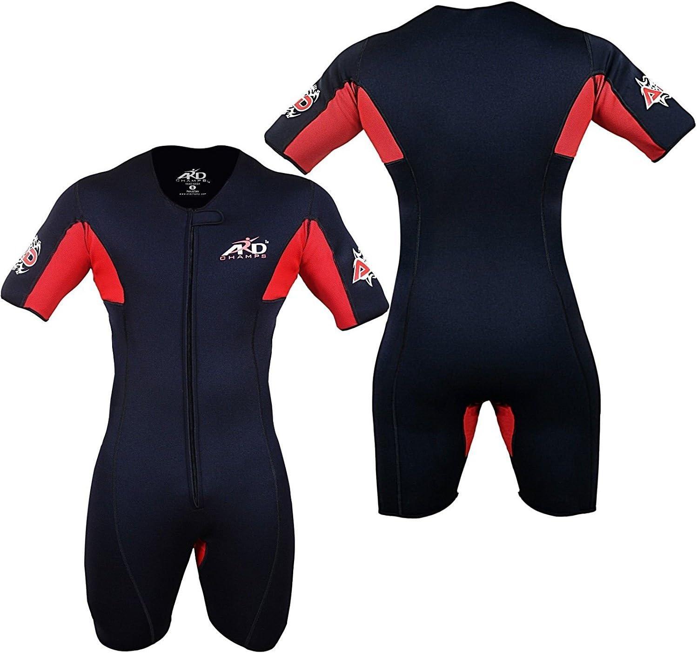 ARD CHAMPS™ Neoprene Sweat Sauna Suit Weight Loss Slim Shorts MMA Gym Boxing MMA