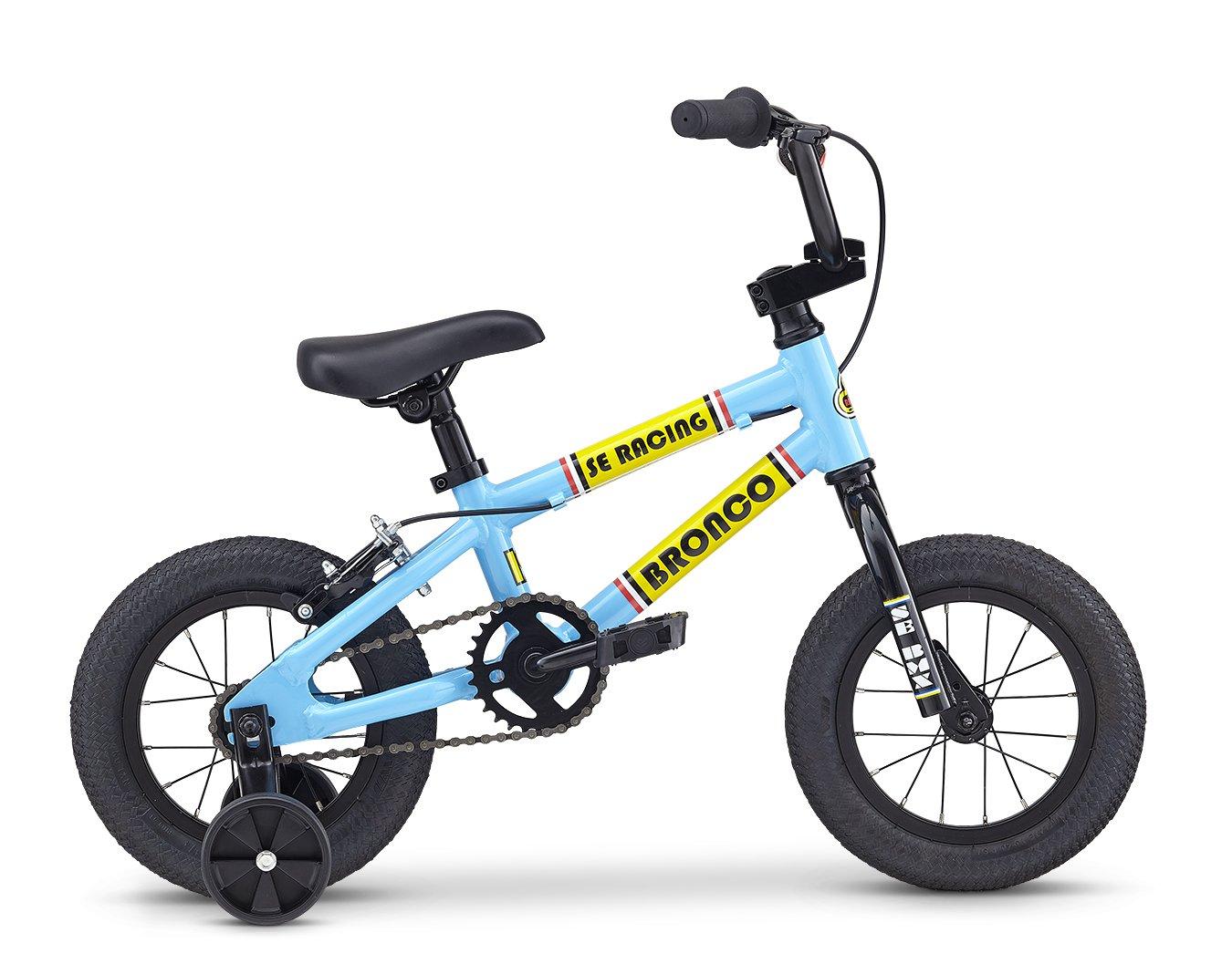 SE Bikes Bronco 12 Kids Bike 12 Blue