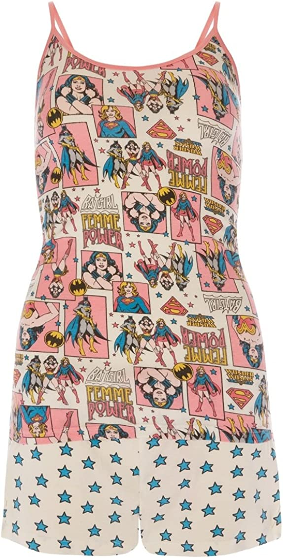 WONDER WOMAN BY PRIMARK - Pijama - para mujer rosa rosa S ...