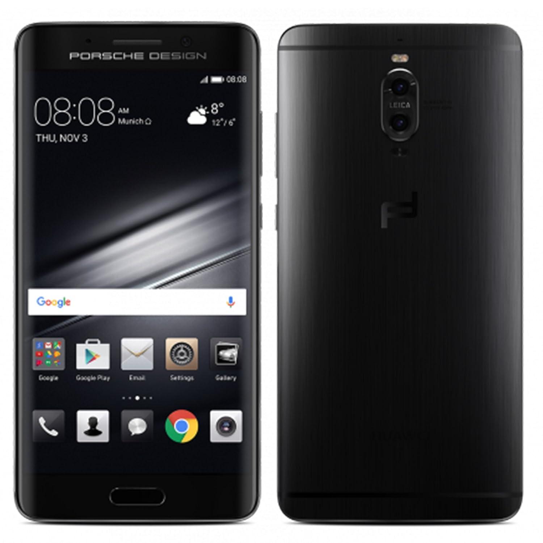 Porsche Design Huawei Mate 9 Luxury Edition 256GB LON-L29 Dual SIM Factory Unlocked 4G/LTE Smartphone (Graphite Black) - International Version with No Warranty