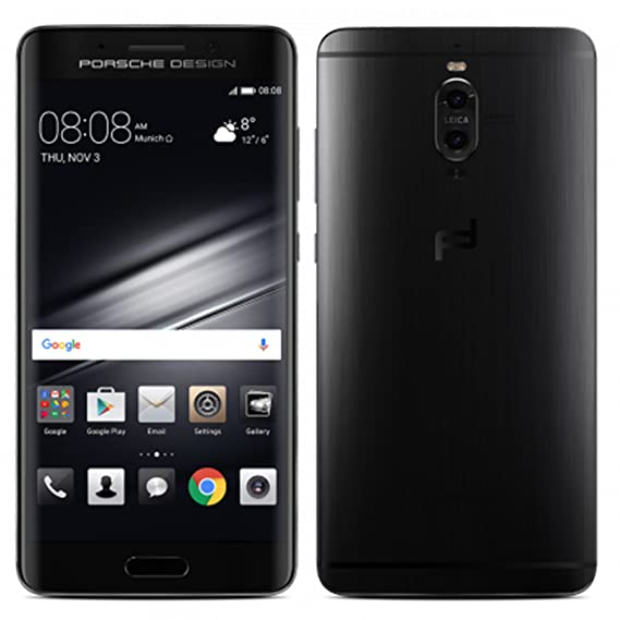 Porsche Design Huawei Mate 9 Luxury Edition 256GB LON-L29 Dual SIM (GSM  Only, No CDMA) Factory Unlocked 4G/LTE Smartphone (Graphite Black) -