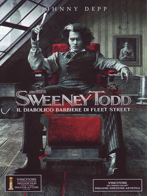 Sweeney Todd - Il diabolico barbiere di Fleet Street Italia DVD: Amazon.es: varie, varie, varie: Cine y Series TV