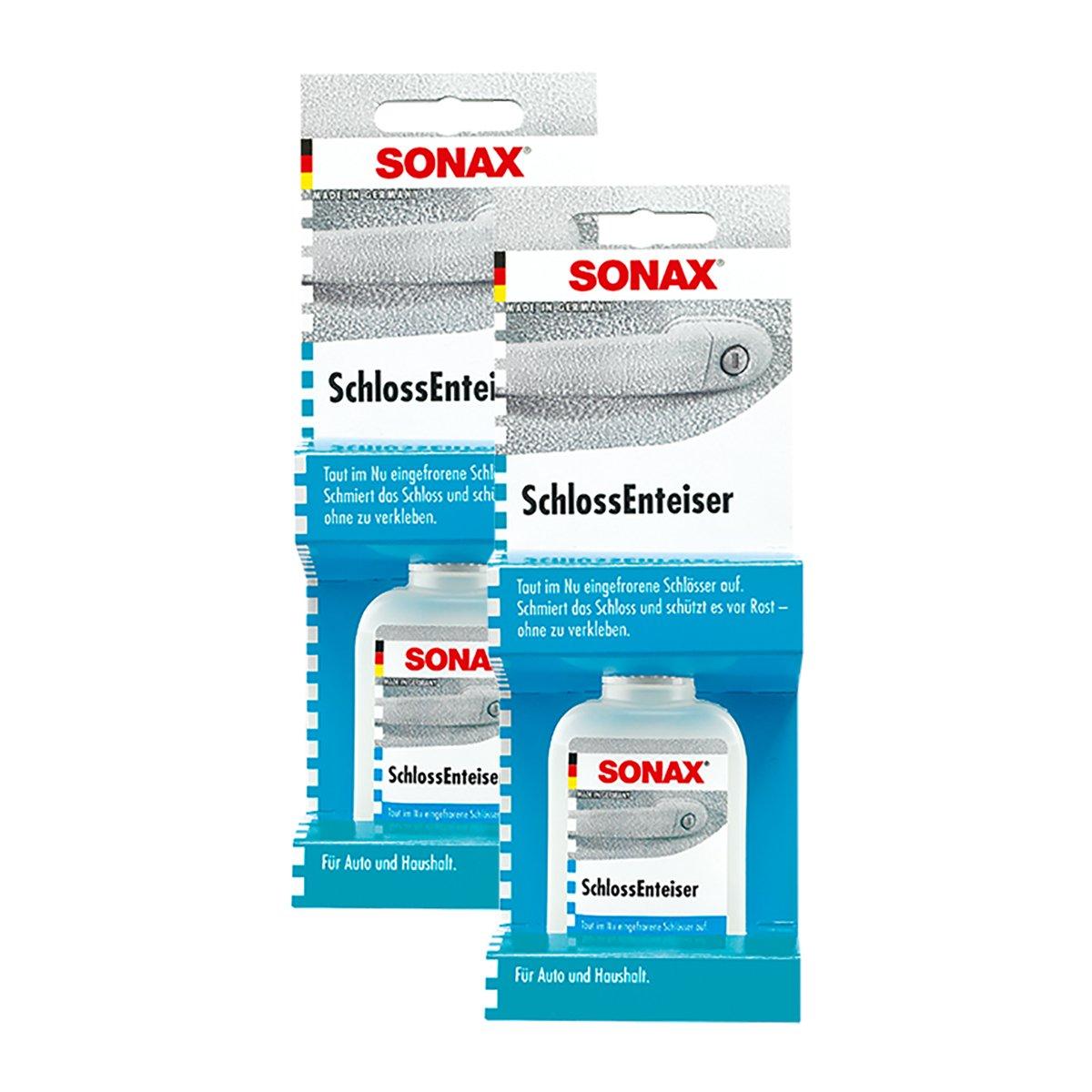 SONAX 2X 03310000 SchlossEnteiser 50 ml