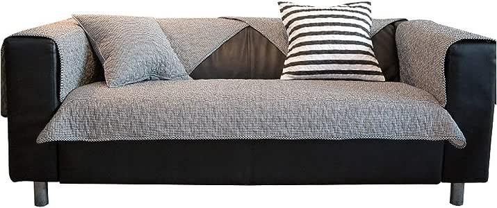 Green Plaid Funda de sofá de Estilo Moderno Toalla Sofá de Tela ...