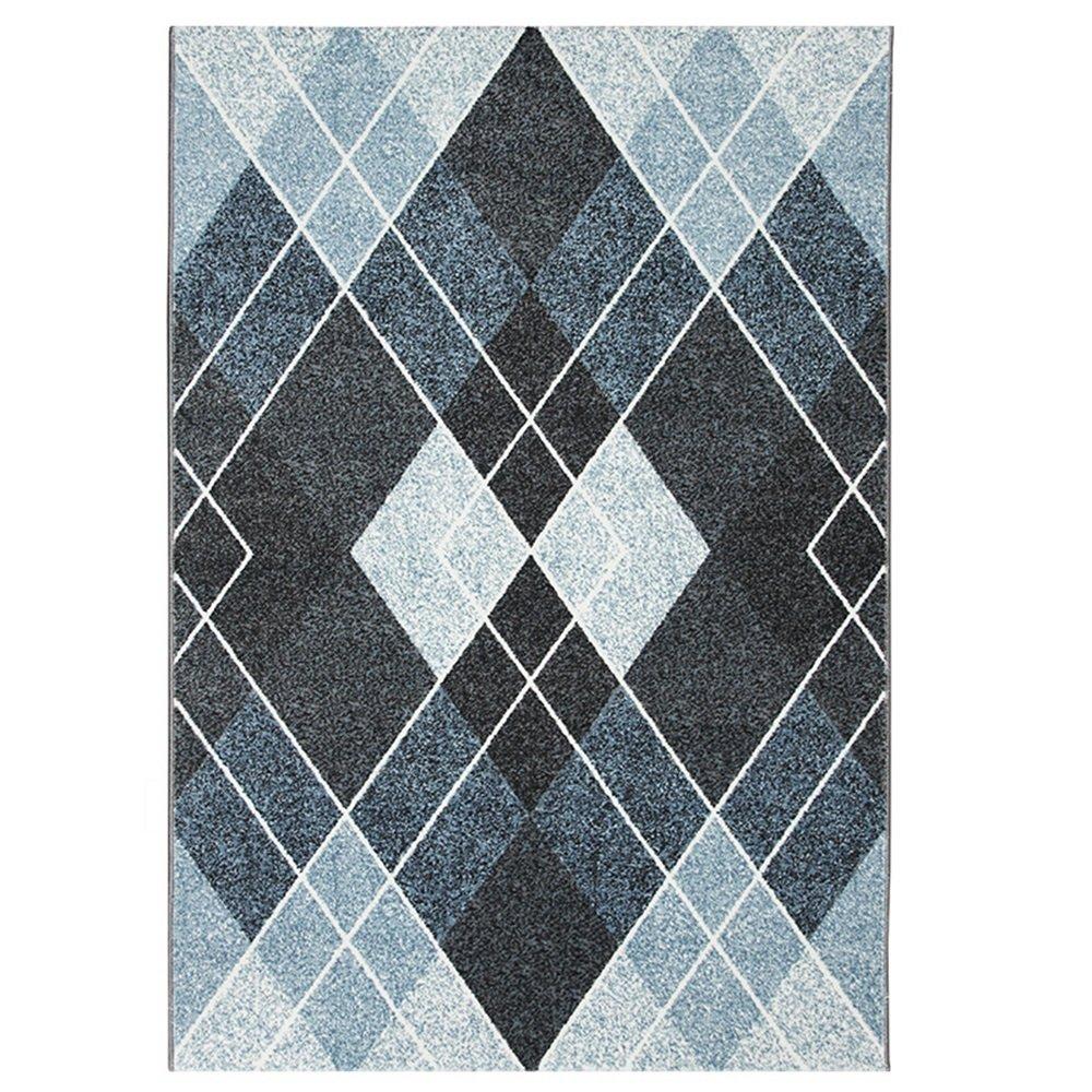 ランナー カーペット - - 長方形の北欧スタイルの幾何学模様のカーペット、リビングルーム、ソファー、ベッドサイド廊下織りのカーペット エリアカーペット B07QWBLBPB