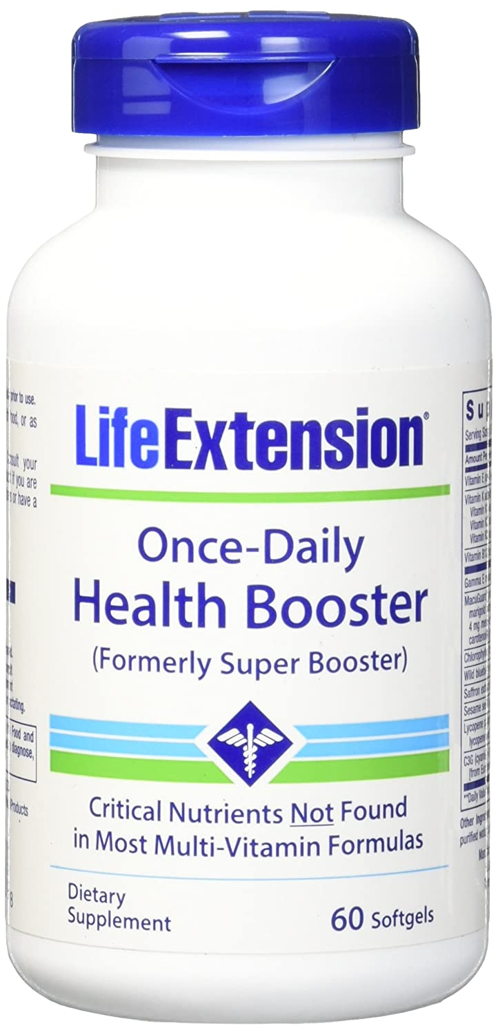 Life Extension Once-Daily Health Booster Softgels, 60 Count